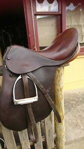 Stubben Tristan Brown Dressage Saddle