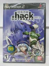 NEW PS2 .hack//OUTBREAK (Sony PlayStation 2)Factory Sealed Rare!