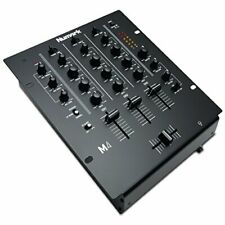 Numark M4 - 3-Channel Scratch DJ Mixer, Rack Mountable with 3-Band EQ,