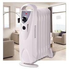 "Portable Radiator Heater Electric Home Room Oil Filled 700W Watt Safe 15"""