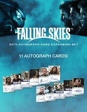 Falling Skies 2015 Autograph Expansion Complete 11 Card Factory Set