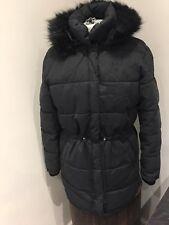 c4f30283574fb Lee Cooper. señoras abrigo parka acolchada de color negro de primera  calidad. Talla 12 (m).! nuevo!