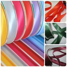 Superior Quality Satin Bias Binding Rolls 19mm Many Colours & Lengths