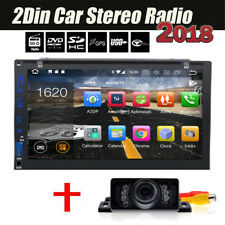 """7"""" Android 6.0 4G WiFi Double 2DIN Car Radio Stereo BT DVD Player GPS Navi OBD2"""