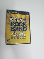 Rock Band: Country Track Pack (Sony PlayStation 2, 2009) PS2 Complete w/ Manual