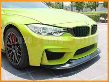 GTS Style Carbon Fiber Front Bumper Add-on Lip 2pc For 15-17 BMW F80 M3 & F82 M4