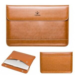 Leather Sleeve for MacBook Air 13 and MacBook Pro Air 13-inch Laptop Case Brown