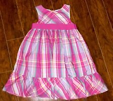 GIRLS Chaps DRESS SIZE 6x PINK Fancy Easter Mother's Day Party