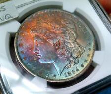 1884-O MORGAN SILVER DOLLAR NGC MS64 w/BEAUTIFUL COLOR!!  #002