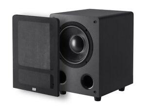 "8"" 200W Premium Home Theater Audio Subwoofer Powered Black 8-inch 200 Watt LFE"