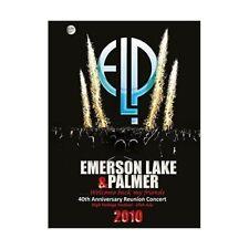 DVD EMERSON LAKE E PALMER 40TH ANNIVERSARY REUNION CONCERT HIGH VOLTAGE FESTIVAL