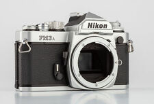 Nikon FM3A Gehäuse chrom  SHP 64696