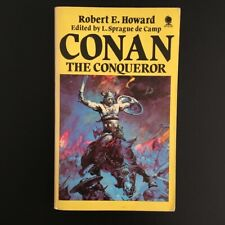 Robert E Howard - Conan The Conqueror - Sphere Books - 1985 Vintage Fantasy
