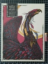 The Head and the Heart / City and Colour Concert Poster Reproduction