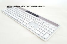 Logitech Wireless K750 Solar Keyboard Tastatur für Mac grau CH-Layout NEU DHL