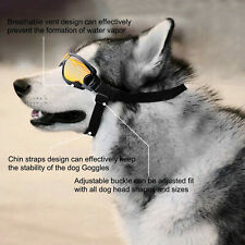 Latest Pet Dog Goggles Sun Glasses Eye Wear Protection against UV Water Dust US