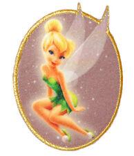 "Iron - "" Disney - Fairies - Tinkerbell "" - 7,2 cm 9 cm - Patch Applika"