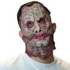The Mask Biz Freddy Krueger Mask Latex Prank Party Costume Horn Crazy kruger