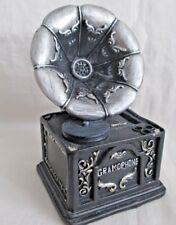 Vintage Gramophone Decorative Coin Bank