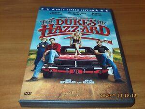 The Dukes of Hazzard (DVD, 2005, Full Frame Edition)
