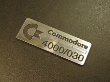 Commodore Amiga 4000 030 Label / Logo / Sticker / Badge 42 x 15 mm [271]