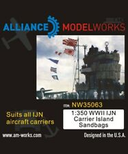 Alliance Model Works 1:350 WWII IJN Carrier Island Sandbags #NW35063