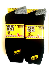 Hogans Wholesale -12 Pairs Mens Gents Ultra Tuff Cushioned Work Socks Thick 6-11
