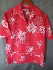 Vintage Hilo Hattie's Size Medium Hawaiian Aloha Polyester Shirt