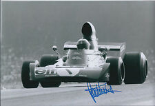 Jackie STEWART SIGNED Autograph Ford TYRRELL World Champion on Photo AFTAL COA