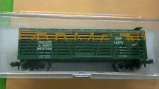 Chicago & North Western, 40' Stock Car, Cattle Car, N Scale, Model# 3432