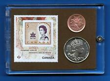 Diamond Jubilee 1967 Commemorative Stamp & Coins Set