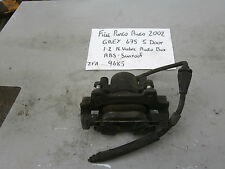 FIAT BOSCH OFF SIDE BRAKE CALIPER & PADS FROM PUNTO 1.2 16 VALVE PETROL 99-06