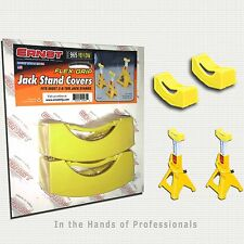 ERNST Mfg 965 YELLOW JACK STAND PAD COVERS (1 Pair) < NEW