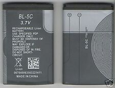 NEW BATTERY FOR NOKIA BL5C 1616 X2-01 5130 2330 CLASSIC USA SELLER