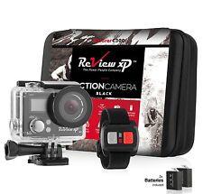 4K Sports Action camera Ultra HD DV 16MP 1080p 60fps + Remote + Accessory Bundle