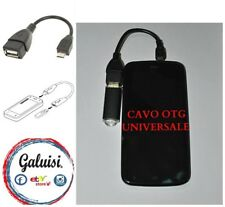 CAVO CABLE OTG adattatore micro usb 5 pin usb 2.0 femmina Tablet e Smartphone