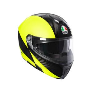 AGV SPORTS MODULAR CARBON Flip Front Up Touring Motorcycle Helmet 1295 grams