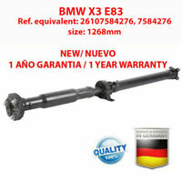 ARBRE DE TRANSMISSION BMW X3 E83 1.8D, 2.0D , 26107584276, 7584276, new!!