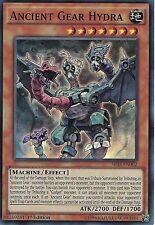 YU-GI-OH CARD: ANCIENT GEAR HYDRA - SUPER RARE - SR03-EN002 - 1ST EDITION