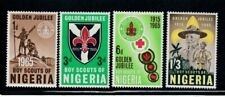 NIGERIA Golden Jubilee Boy Scouts of Nigeria MNH set