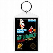 Nintendo Nes ICE CLIMBER Game Box Cover Keychain New #1