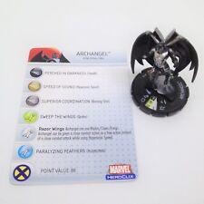 Heroclix Giant Size X-Men set Archangel #104 Limited Edition figure w/card!
