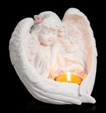 Porte-bougies - FILLE ENGEL MIT Rosaire - chérubins chérubin amour déco
