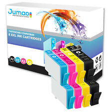 8 cartouches Jumao compatibles pour HP Photosmart e-All-in-One 7510 6520 6525
