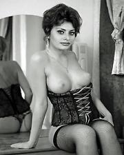 Vintage Pin Up Sexy Hot Sohia Loren Lingerie 8 x 10