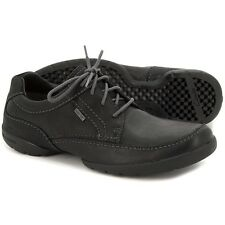 Clarks Hombre RAMBLAS WAY NEGRO GTX Zapatillas impermeables Uk 8.5 / True 9