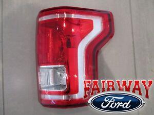 15 thru 17 F-150 OEM Genuine Ford Tail Lamp Light Passenger RH (No LED & Radar)