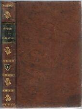 LETTRES NORMANDES Petit Tableau Moral Politique attribué à Léon THIESSÉ 1818 T.1