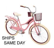 Women's Nel Lusso 24 inch Huffy Cruiser Bike Pink Ships Same Day