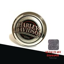 Aufkleber Tankdeckel A Farben Metlflake Kompatibel für Harley Davidson